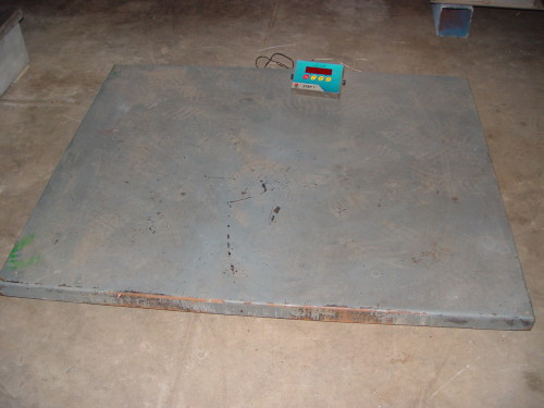 Electronic scale 1250 x 1500